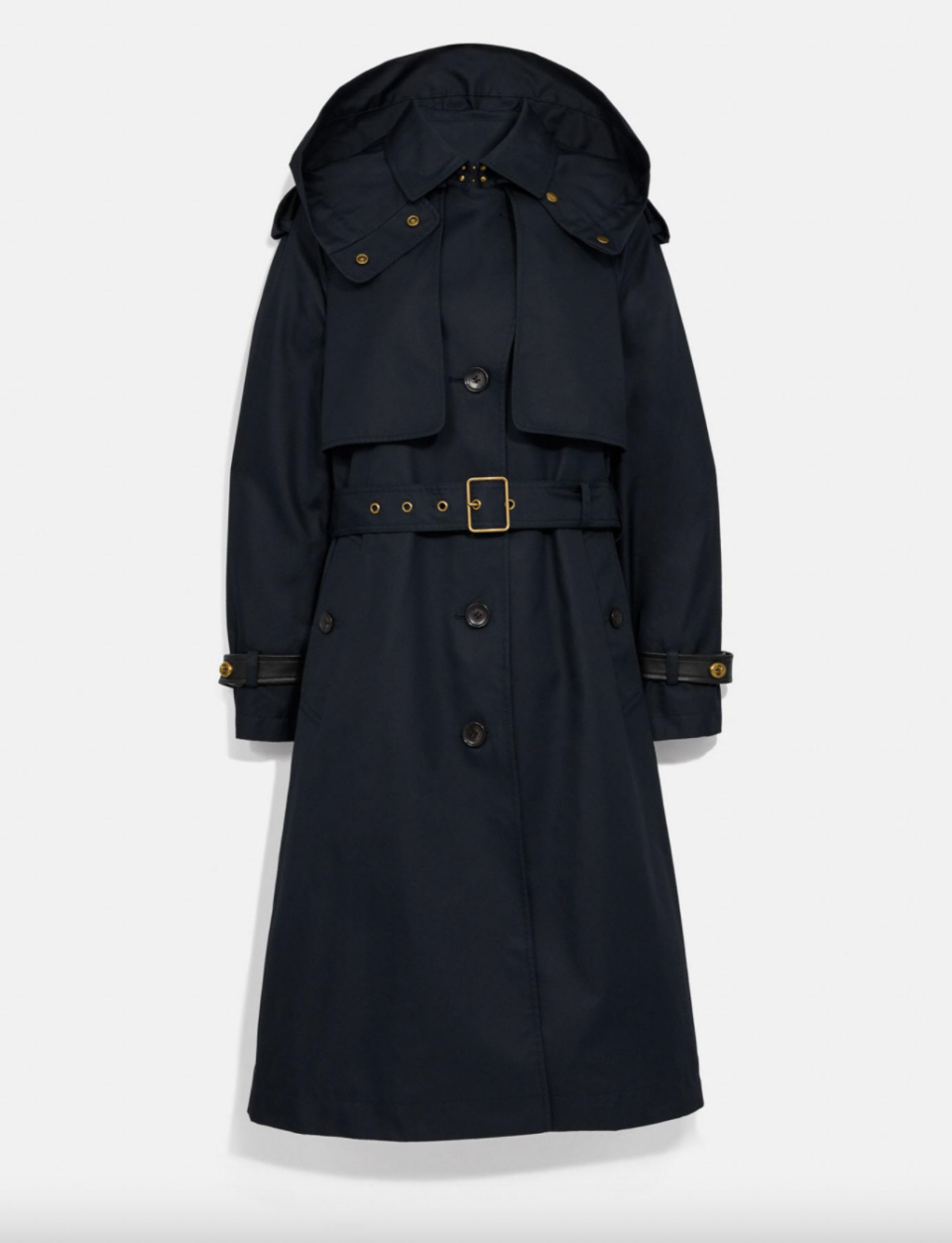 Coach Outlet Hooded Trench (Photo via Coach Outlet)