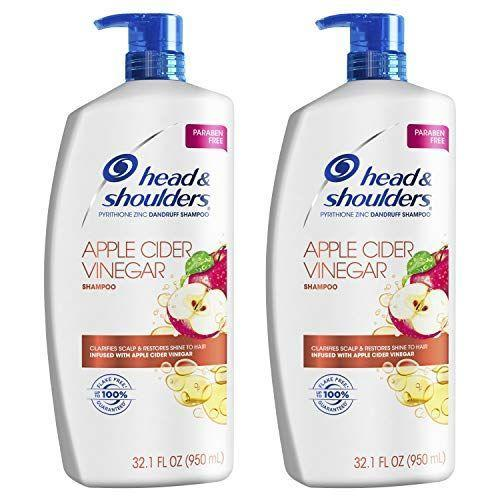 """<p><strong>Head & Shoulders</strong></p><p>amazon.com</p><p><strong>$21.98</strong></p><p><a href=""""https://www.amazon.com/dp/B08HP4BZRF?tag=syn-yahoo-20&ascsubtag=%5Bartid%7C2140.g.37361342%5Bsrc%7Cyahoo-us"""" rel=""""nofollow noopener"""" target=""""_blank"""" data-ylk=""""slk:Shop Now"""" class=""""link rapid-noclick-resp"""">Shop Now</a></p><p>This old school, dandruff-fighting formula got a recent reboot with an infusion of clarifying apple cider vinegar meant to target and remove impurities as well as excess oils. If you're looking for a budget, 2-in-1 option, you can't go wrong with this classic shampoo and conditioner. </p>"""