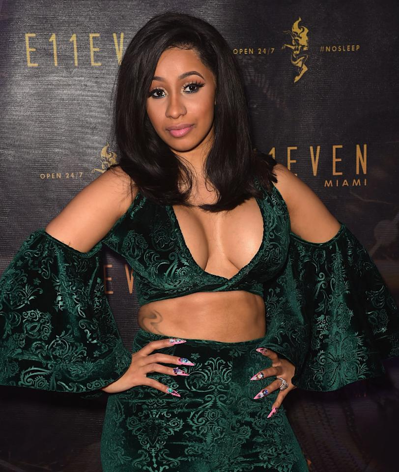 """<p>There's no disputing the fact that Cardi B ruled the summer with her in-your-face trap single """"<a rel=""""nofollow"""" href=""""https://www.youtube.com/watch?v=PEGccV-NOm8"""">Bodak Yellow</a>."""" A proudly rude graduate of the worlds of exotic dancing and reality TV (<em>Love & Hip Hop</em>), Cardi became the first female rapper to top the Billboard Top 100 Songs chart since Lauryn Hill back in 1998. Casting back even further, Cardi updated the drop-dead attitude of early Lil' Kim and Foxy Brown. The unprintable verse found on her album <i>Gangsta Bitch Music Vol. 2</i> matched those stinging words to trampoline beats and a bracingly clear production. One part John Waters, another part Millie Jackson, Cardi has the fire and wit to give mainstream hip-hop back its threat. (Photo: Getty Images) </p>"""