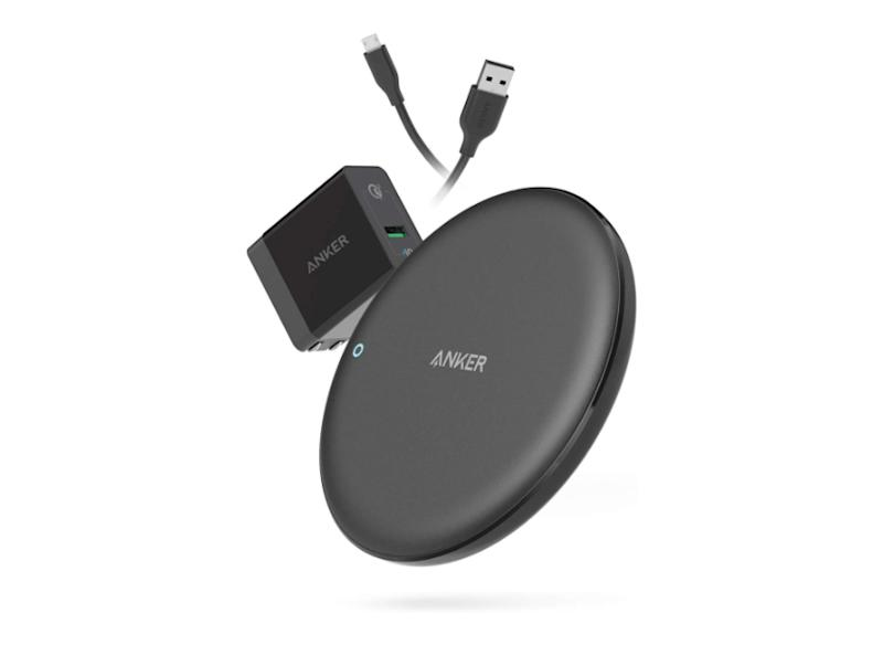 Save 40 percent on this wireless charging pad from Anker. (Photo: Amazon)