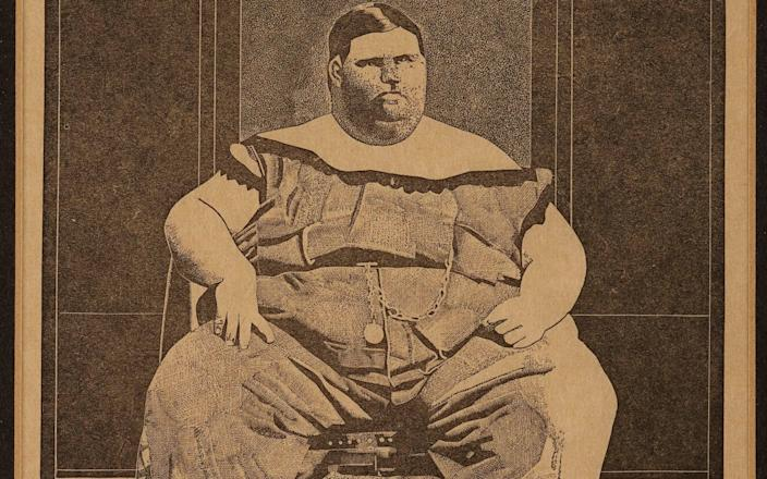 Fat Boy, one of the Peter Blake works hanging in the Downing Street flat