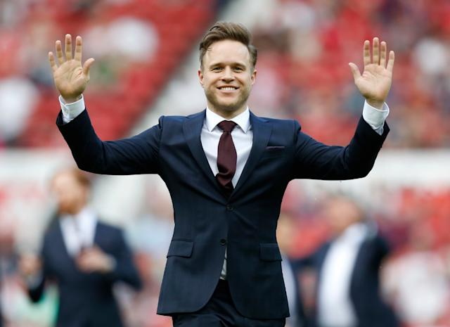 Olly Murs denies taking part in Strictly