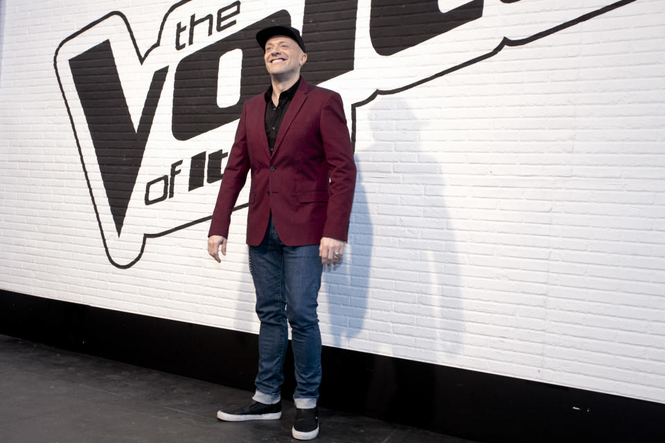 "Max Pezzali a ""The Voice Italy"" nel 2016. (Photo by Federico Ferramola/NurPhoto) (Photo by NurPhoto/NurPhoto via Getty Images)"
