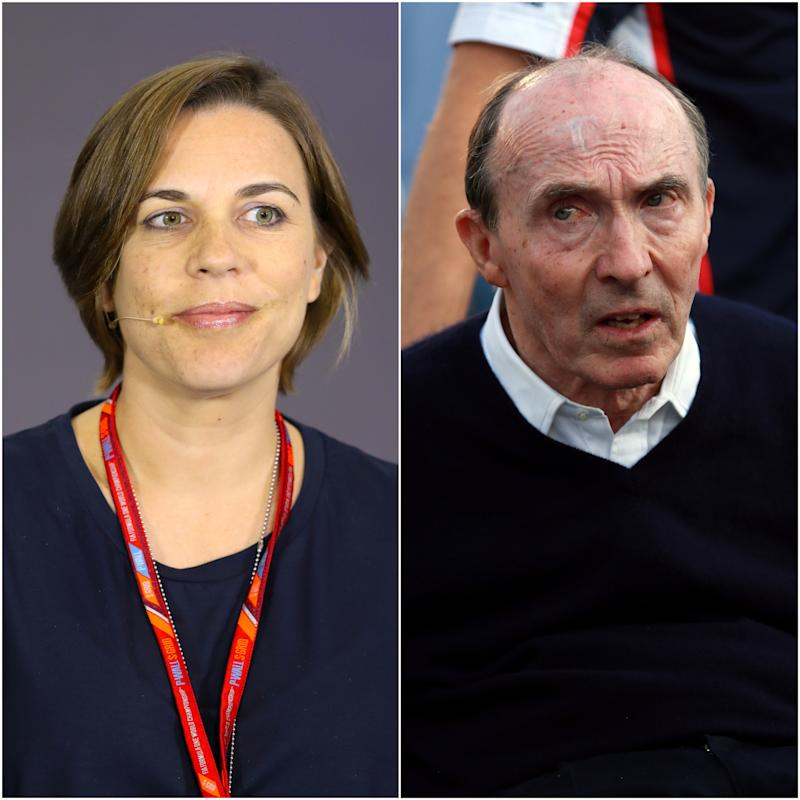 Claire Williams and Sir Frank Williams will be leaving their roles at Williams Racing