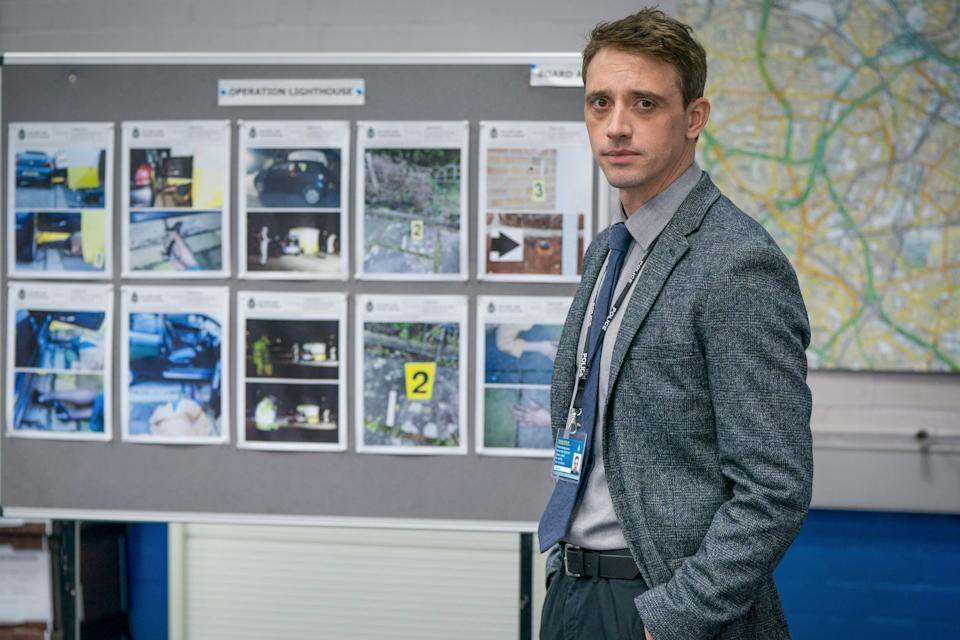 WARNING: Embargoed for publication until 00:00:01 on 23/03/2021 - Programme Name: Line of Duty S6 - TX: n/a - Episode: Line Of Duty - Generics (No. n/a) - Picture Shows: *NOT FOR PUBLICATION UNTIL 00:01HRS, TUESDAY 23rd MARCH, 2021*  DS Chris Lomax (PERRY FITZPATRICK) - (C) World Productions - Photographer: Steffan Hill