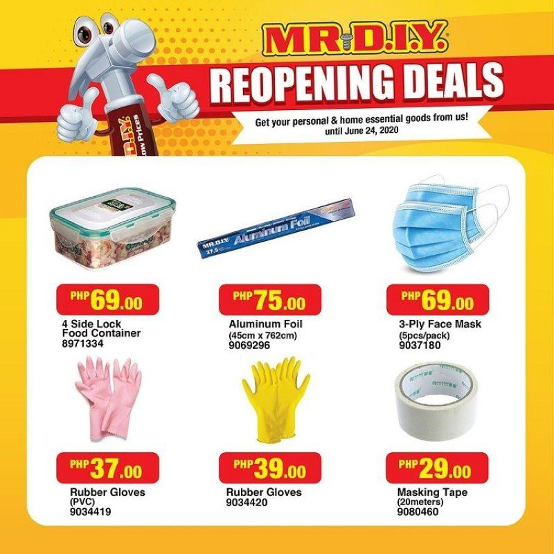 More home improvement products available as MR. DIY reopens