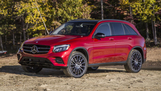 <p><strong>Mercedes-Benz GLC</strong><br><strong>Price as tested:</strong> $49,105<br><strong>Highlights:</strong> Plush interior, powerful four-cylinder engine, comfortable front seats. <br><strong>Lowlights:</strong> Reliability issues with brakes, steering/suspension and power equipment. <br>(Autoblog) </p>