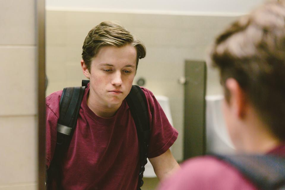 A growing dissatisfaction with their bodies is increasing in teenage males. (Getty Images)