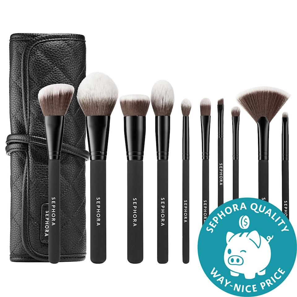 <p>Forget spring cleaning . . . what about summer cleaning?! Now could be the best time to refresh a brush collection with this bestselling <span>Sephora Collection Ready to Roll Brush Set</span> ($70) that has your whole face covered. (As a bonus, you'll then be ready to roll when it's time to travel again, too.)</p>