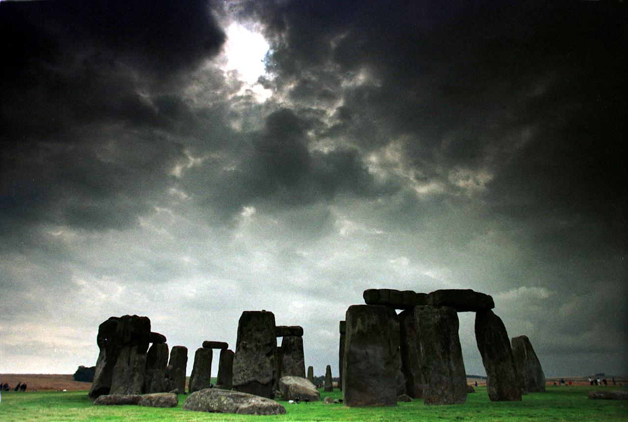 The skeleton of a man executed at Stonehenge, up to 2,100 years ago was put on display June 9.  The bones were first unearthed in 1923, and were thought to have been destroyed during the 1941 London Blitz, until they were rediscovered by [author Mike Pitts] whilst researching a book on the stone circle. Reuters