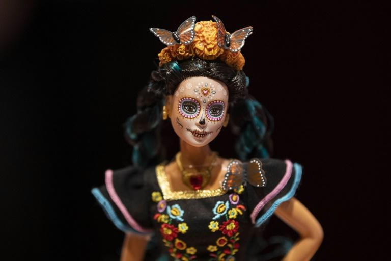 The Day of the Dead Barbie doll is based on the famous character imaged by cartoonist Jose Guadalupe Posada