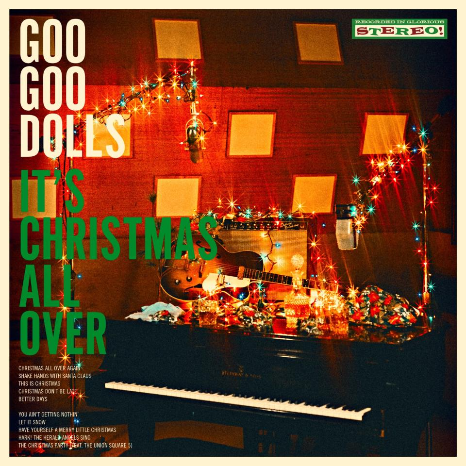 """This cover image released by Warner Records shows """"It's Christmas All Over"""" by the Goo Goo Dolls. (Warner Records via AP)"""