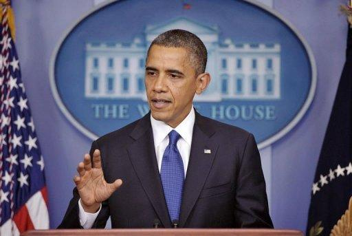 Obama calls for scaled back package to avert fiscal cliff