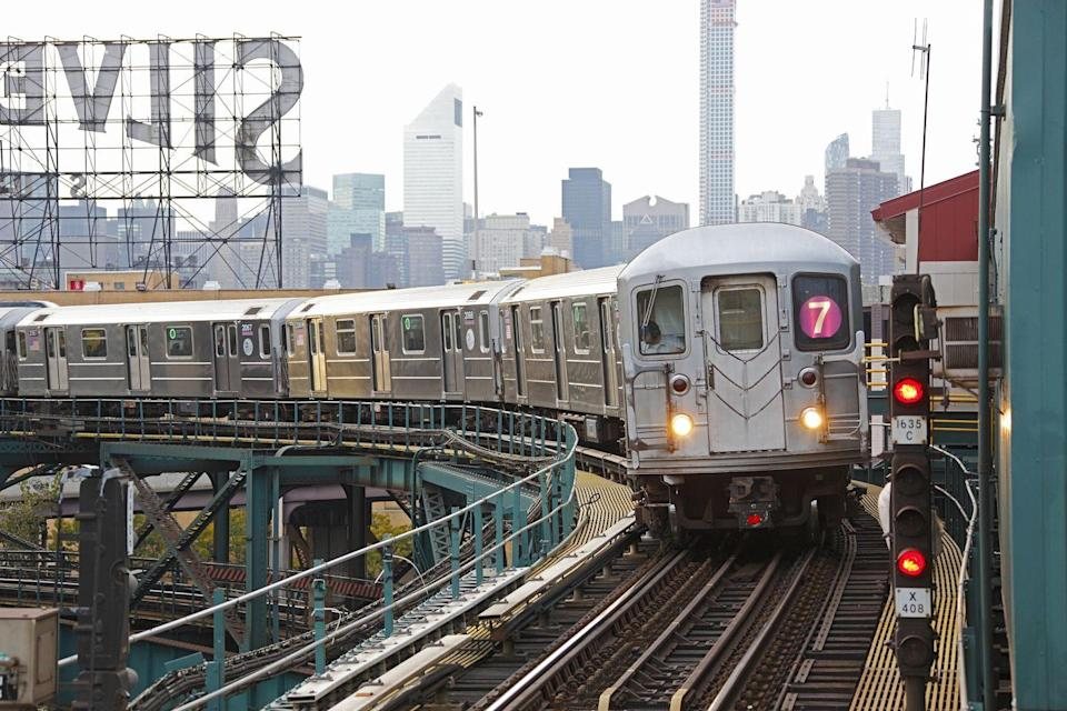 <p>Only about 60 percent of the subway system is actually below street level. </p>