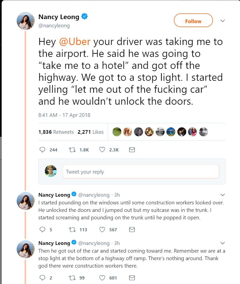 This Law Professor Says That An Uber Took Her On A Nightmare Ride