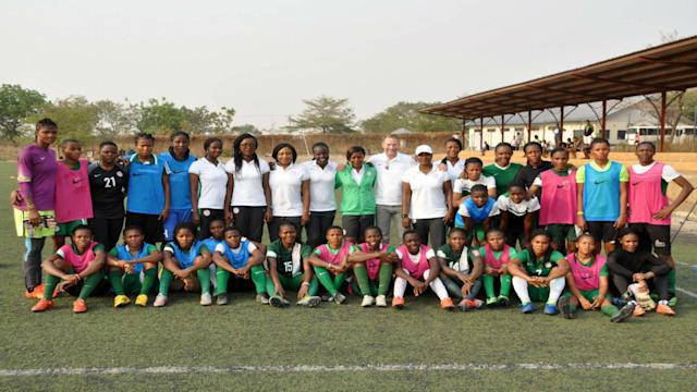 The African queens will take part in the regional event in Abidjan and the gaffer is urging all not to expect too much from his girls