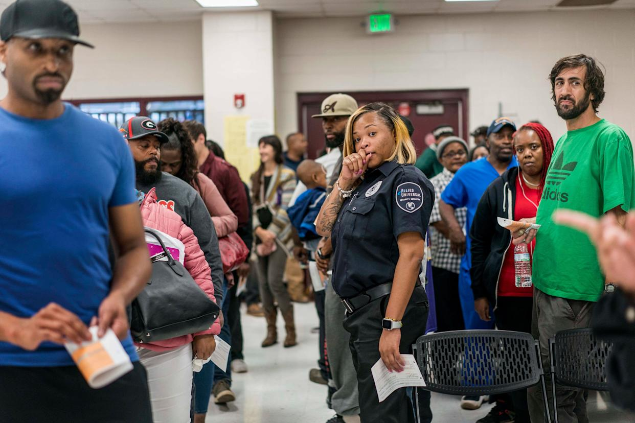 Waits to vote in some Georgia precincts exceeded four hours this year. (Photo: The Washington Post via Getty Images)