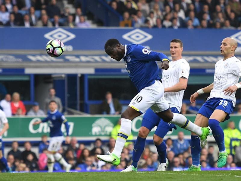 Lukaku scored Everton's second with a thumping header (Getty)