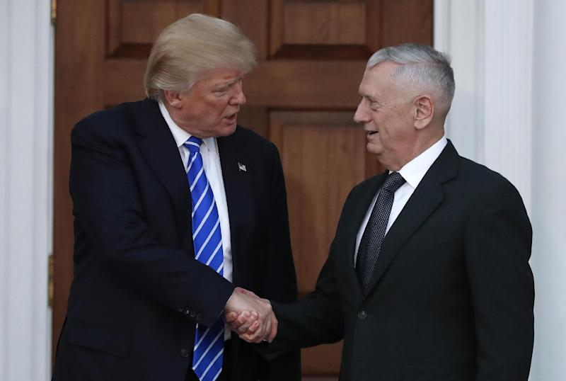 Retired Gen. James Mattis cancels appearance before House Armed Services Committee