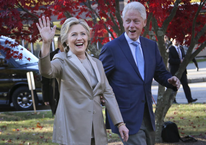 APNewsBreak Hillary, Bill Clinton to go on tour this year