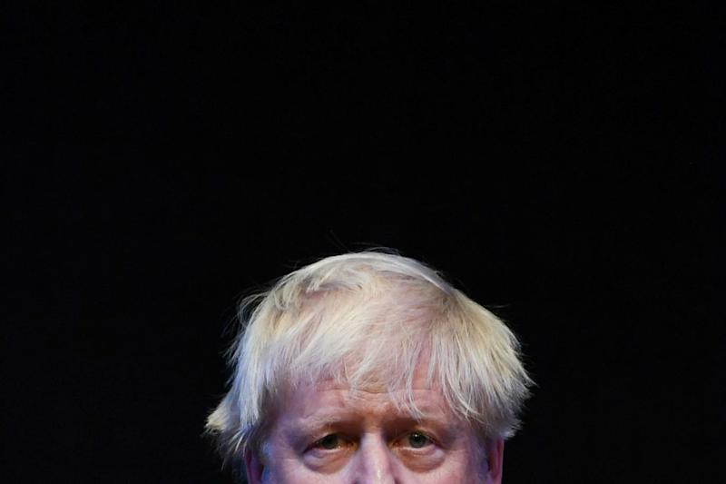 Boris Johnson: 'Running around with his stupid haircut spouting b*******', according to Danny Dyer (Paul Ellis/AFP/Getty Images)