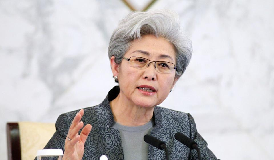 China's former vice foreign minister Fu Ying. Photo: Simon Song