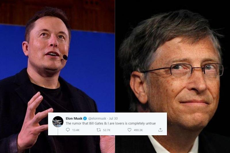 Elon Musk Opens up about 'Rumours' on Being 'Lovers' with Bill Gates, Netizens Baffled