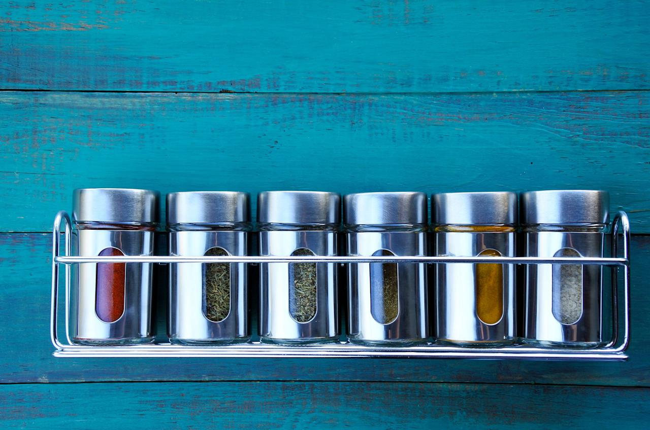 <p>If like us, you've found yourself spending more time at home cooking for yourself, then you've probably been faced with an entire cupboard full of random herbs and spices you're not THAT sure how to use. Here we break down some of the most popular of these, and what you can ACTUALLY do with them. </p><p>Before you begin, it might be a good idea to check expiry dates on those bad boys, and chuck out any that aren't as fresh anymore.  </p>