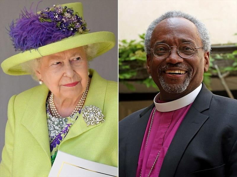 The Queen and American Bishop Michael Curry
