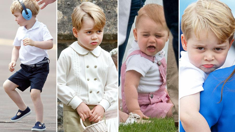 <p>Just as the young prince turns five, we take a look back on some of his sassiest moments. Source: Getty </p>