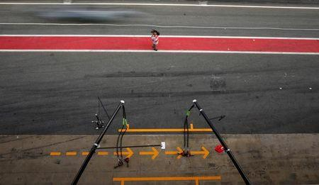 Formula One - F1 - Test session