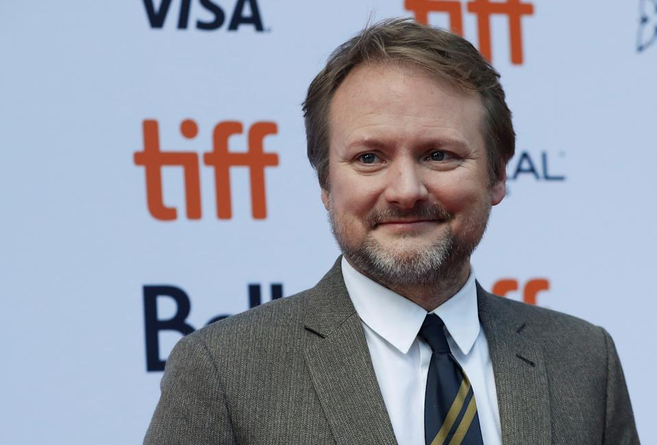 "Director Rian Johnson arrives for the special presentation of ""Knives Out"" at the Toronto International Film Festival (TIFF) in Toronto, Ontario, Canada September 7, 2019. REUTERS/Mario Anzuoni"