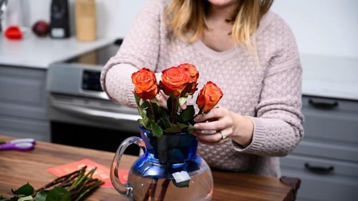 Give someone the joy of flowers each month.