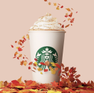 """<p>It would be criminal to end this list with anything else, no? The <a href=""""https://www.delish.com/food-news/a37050919/starbucks-pumpkin-spice-latte-return-date/"""" rel=""""nofollow noopener"""" target=""""_blank"""" data-ylk=""""slk:PSL is the ultimate perennial fav"""" class=""""link rapid-noclick-resp"""">PSL is the ultimate perennial fav</a>, the reason people quite literally swarm Starbucks' mentions starting August 1st every year. Sweet pumpkin, deep espresso, and a cinnamon spread? Sign. Us. Up. Every. Single. Time.</p>"""