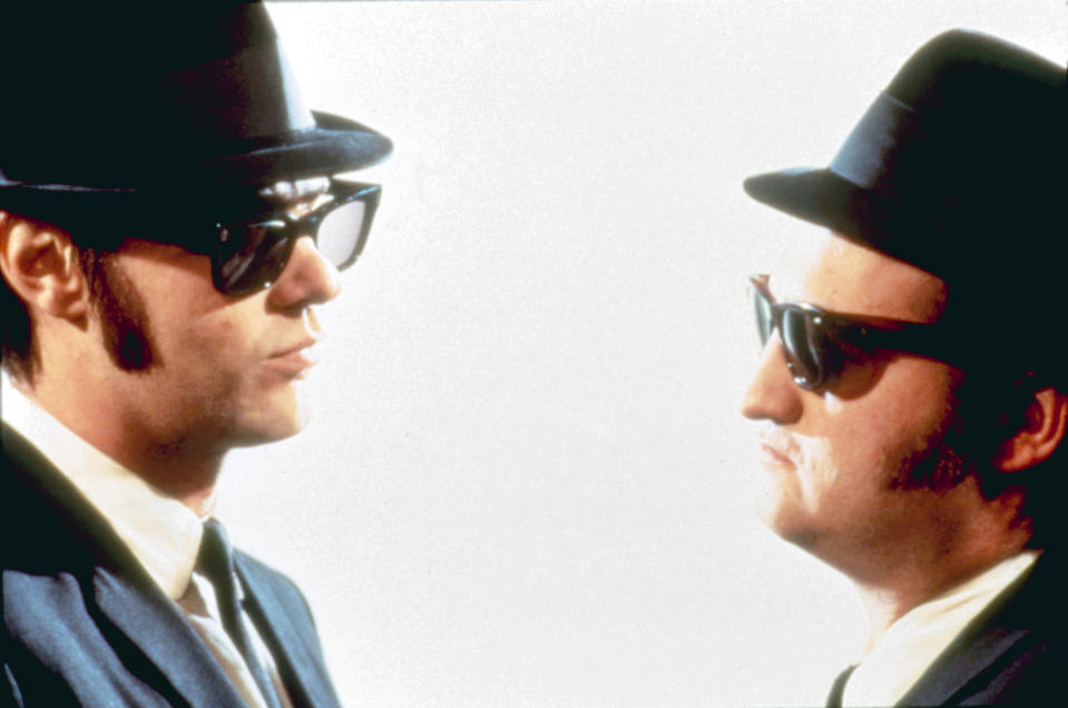 Dan Aykroyd and John Belushi in 'The Blues Brothers' (Photo: Universal/Courtesy Everett Collection)