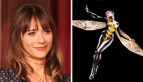 Could Rashida Jones appear as Janet Van Dyne?