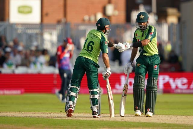 Pakistan's Babar Azam and Mohammad Rizwan helped their side off to a flyer