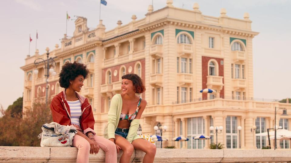 """<p>Inspired by Federico Moccia's novel <strong>Tre Metri Sopra il Cielo</strong> and set on Italy's Adriatic coast, this romantic Italian series follows the love story that blossoms between a street-racing motorcyclist and a woman determined to leave her small town behind and see the world. </p> <p> <a href=""""http://www.netflix.com/title/81004936"""" class=""""link rapid-noclick-resp"""" rel=""""nofollow noopener"""" target=""""_blank"""" data-ylk=""""slk:Watch Summertime on Netflix now."""">Watch <strong>Summertime</strong> on Netflix now.</a> </p>"""