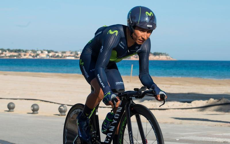 Nairo Quintana is the favourite in this year's Giro - AFP
