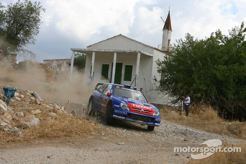 "13. Rally de Chipre 2006: 68,18 km/h<span class=""copyright"">XPB Images</span>"