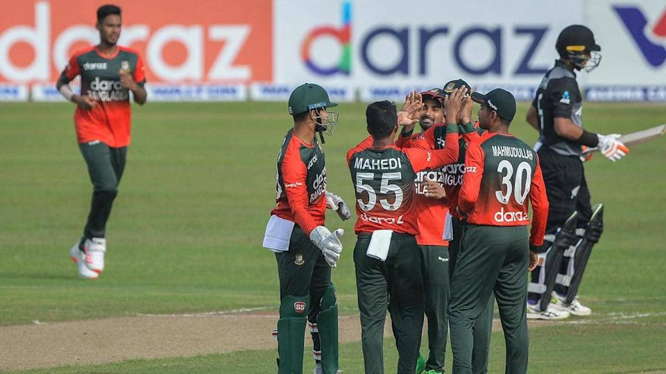 Bangladesh beat New Zealand in first T20I: Records broken
