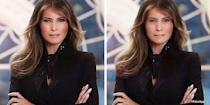 <p>FLOTUS is still looking fine without all that airbrushing. </p>