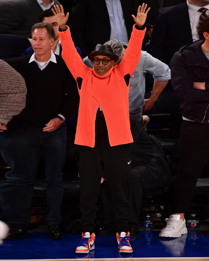 The Knicks finally won again, and so did Spike Lee.