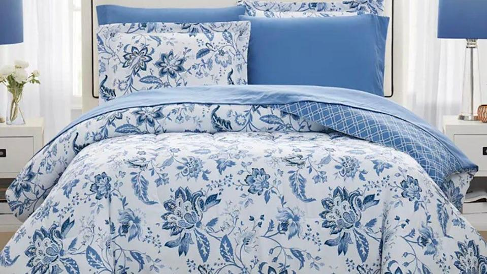 Sink into some cozy bedding after a long, hot summer day.