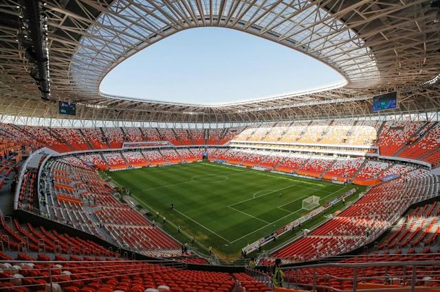<p>Mordovia Arena, Saransk<br>Year opened: 2017<br>Capacity: 44,412<br>Which games: Four group fixtures<br>Fun fact: Will be home to third division Mordovia Saransk after the tournament, with its capacity reduced to 25,000. </p>