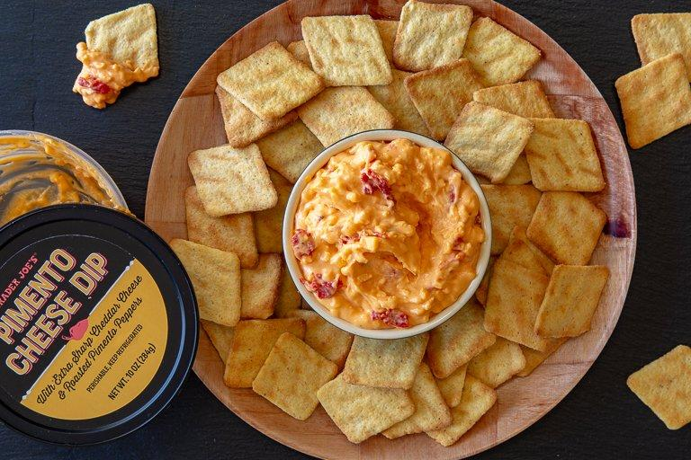 Trader Joe's Pimento Cheese Is Finally Here, and We Tried It