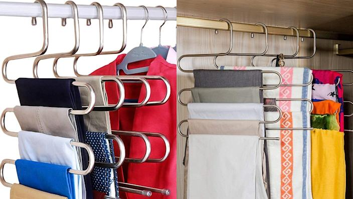 These create so much space in your closet.