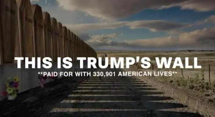 <p>The new ad from the Lincoln Project</p> (The Lincoln Project)