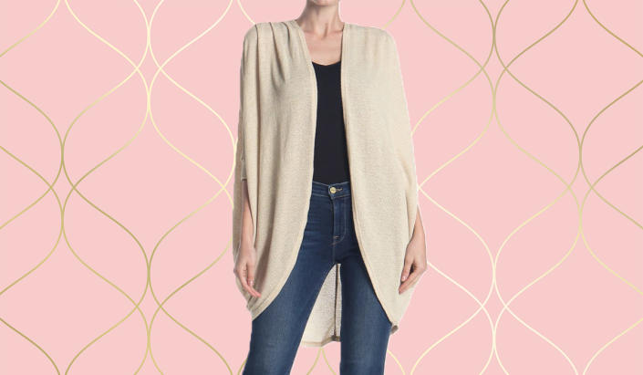 Lightweight, stylish, and oh-so cozy. (Photo: Nordstrom Rack)