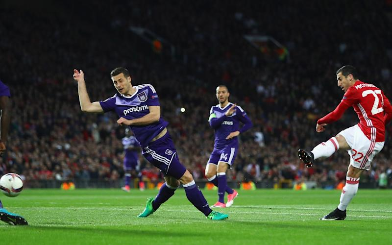 Mkhitaryan opens the scoring - Credit: Michael Steele/Getty Images
